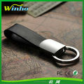 Deluxe Rectangular Key Fob with a Twist Action Ring