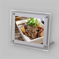 8.5X11 battery power led lightbox open signs for tabletop use