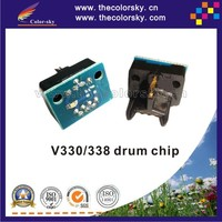 (TY-XV330D) compatible smart drum counter reset chip for Xerox V330 V338 V 330 338 672S50204 bk (20k pages)