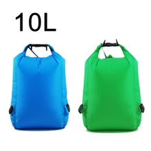 Storage Pouch Bag Nylon Waterproof Dry Bag for Camping Boating Kayaking Rafting Fishing