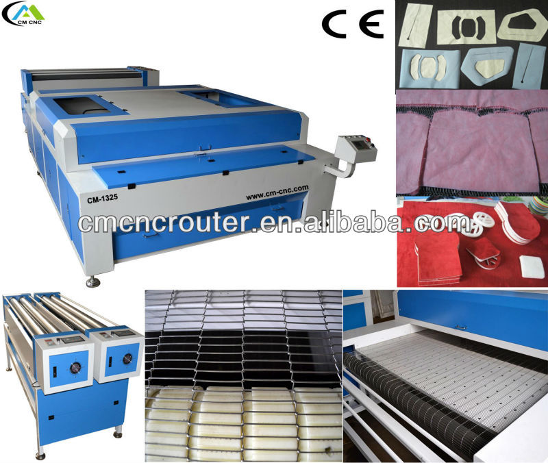 CM-1325 High Speed Four Head Laser Cutting Machine