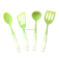 Good Service 100% Food Grade Silicone Set Kitchen Cooking Utensils