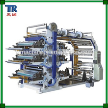 6 Color Flexo Printing Machine, logo printing machine
