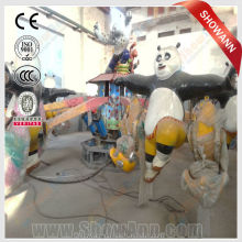 Famous movie animal Panda amusement rides for sale