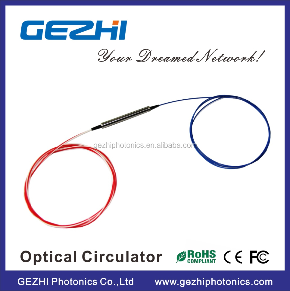 Fiber optical circulator 3 port S+C+L Band 1470nm Optical Circulator FTTH