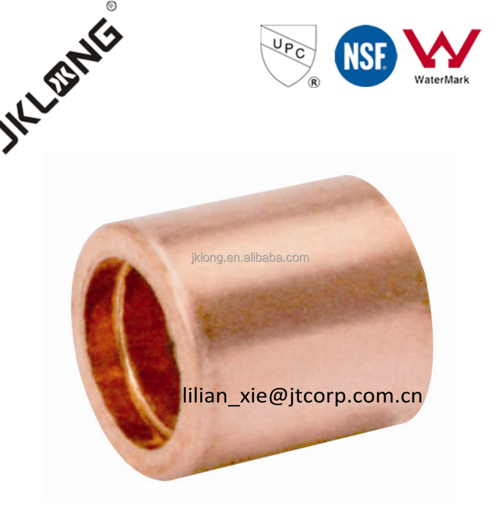 end feed fitting flush bushing FTG x C copper fitting