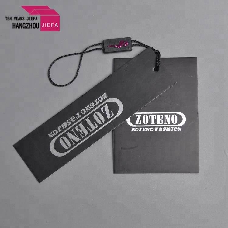 Customized Printing Paper Clothing Hang Tags For Garment