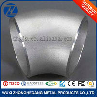 Stainless Steel Pipe Elbow Dimensions 22.5 Degree