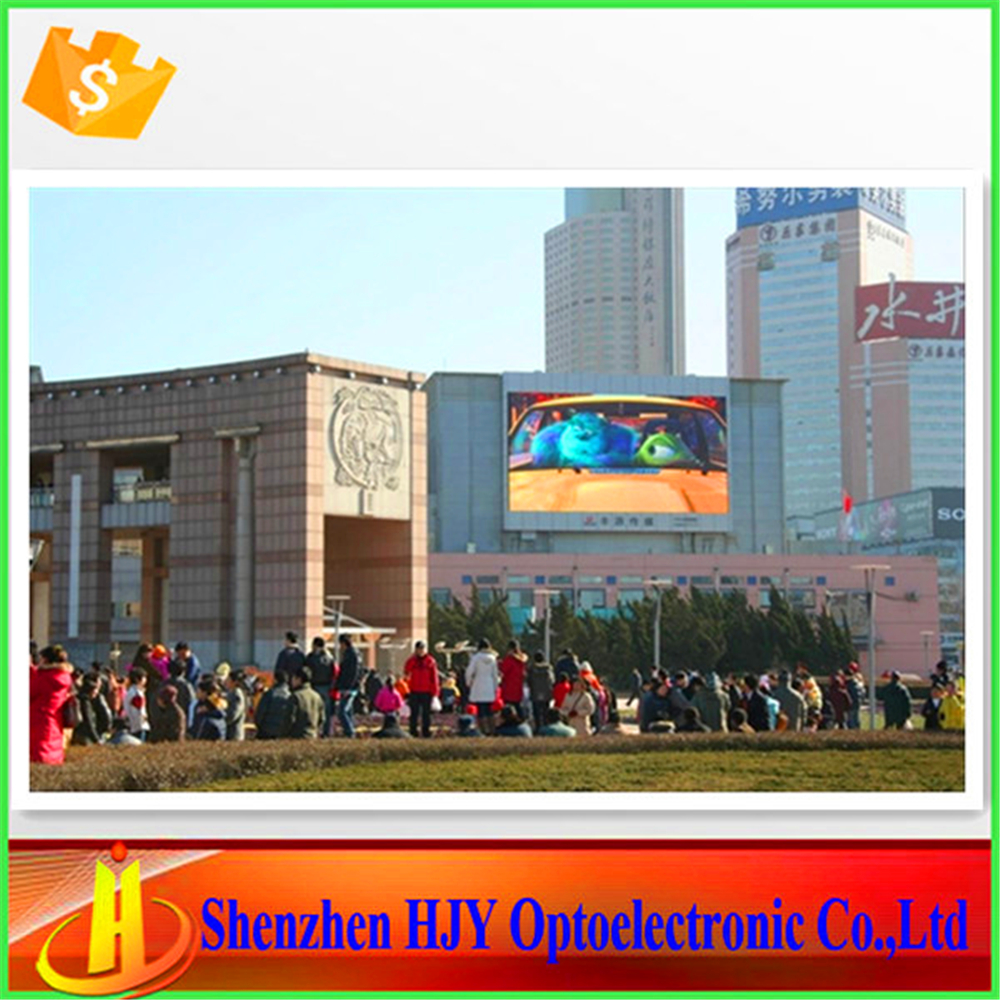 Hot dance video p10 outdoor led advertising screen