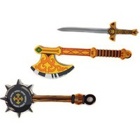 EVA foam wooden grain toy sword