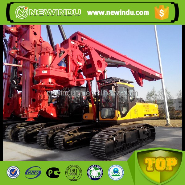 SANY SR250 Piling Machine Crawler Rotary Drilling Rig tractor mounted water well drilling rig