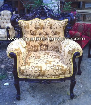 Sofa One Seater with Upholstery - Furniture Custom Design