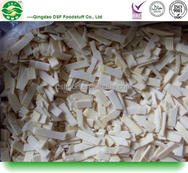 IQF frozen Bamboo shoots slice for sale