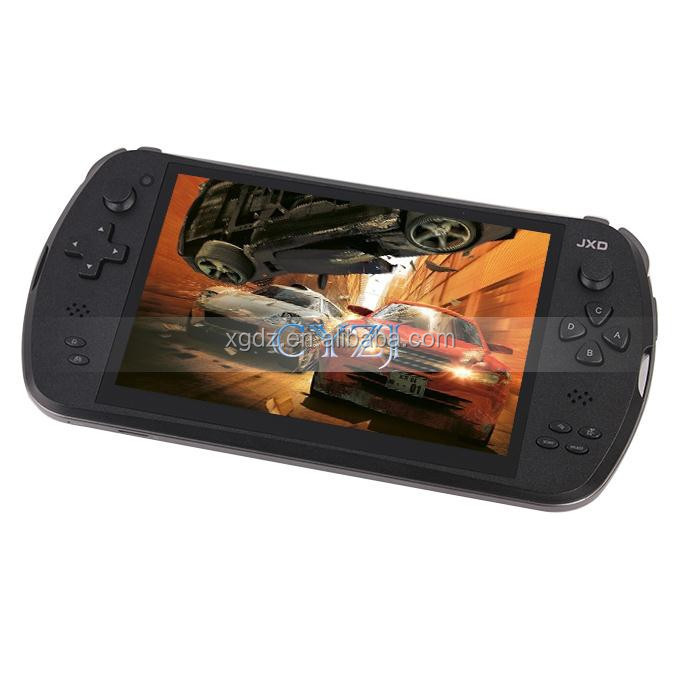 "7"" Quad Core Game Console Player tablet pc jxd S7800 gamepad 2G RAM 16GB 1280X800 IPS"