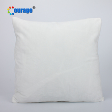 Hotel sublimation printing logo white blank pillow cover