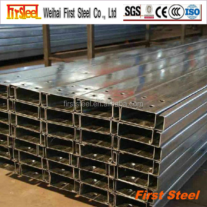 Prime quality competitive price c channel steel astm a36