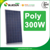 China PV Manufacturer 300W High Voltage Solar Panels 4BB Poly Solar Panel