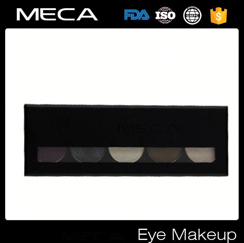 3d mascara Wholesale No Logo 5 colors Eyeshadow Palette