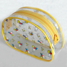 Promotional fashion pvc cosmetic gift bag