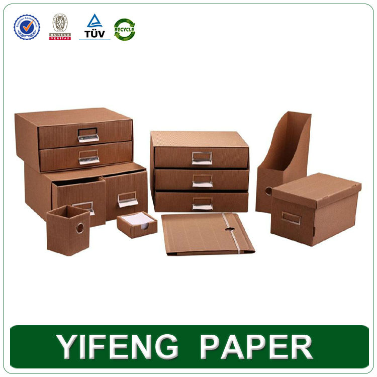 China manufacturer 2014 new product paper board printing cosmetic storage box with lid