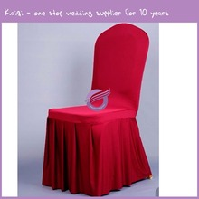 YT00131 banquet wholesale pleated cheap chair cover