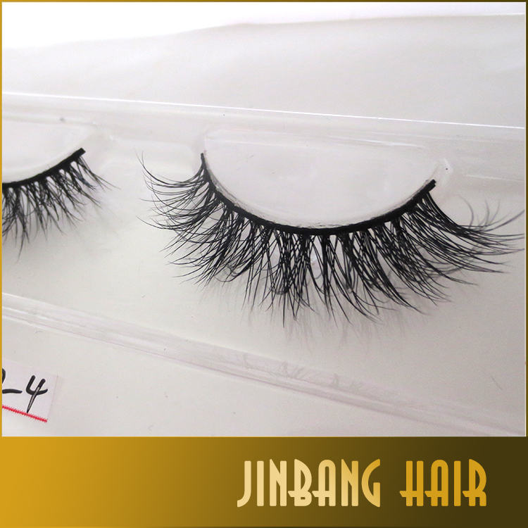 Most charming 3D mink eyelash makeup false eyelash extension Handmade Eye Lashes Strip