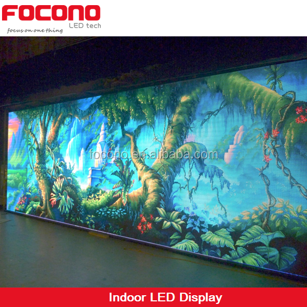 FOCONO LED Church screen customized screen P6mm P10mm indoor led display panel