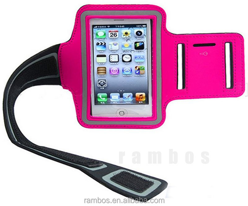 Capa Para Celular Cell Phone Running Gym Armband Accessories Wrist Pouch Mobile Phone Bags Cases for iPhone 4 4S