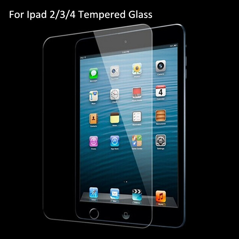 0.3mm 2.5D Explosion-proof Tempered Glass Protectors for <strong>Ipad</strong> 2 / 3 / 4