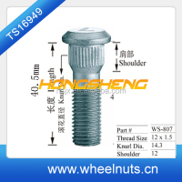 Wholesale products carton/alloy steel stud bolt / stud bolt and nut