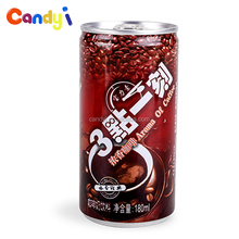 Ready to drink 180ml canned latte coffee drink for sale