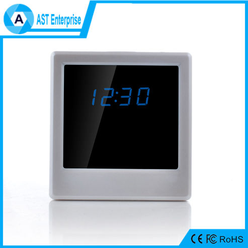 Newest WiFi Wall Clock Hidden Camera P2P IP DVR Nanny Camwifi recording security camera manufacturers