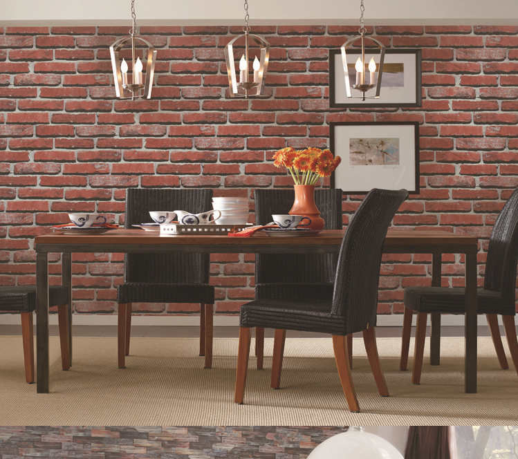 Hot buy vinyl wallpaper advantages 3d brick wallpaper singapore