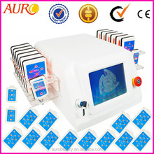 AU-64 iilaser diode ilipo physical firmer, tighter, and smoother skin body slimming beauty machine