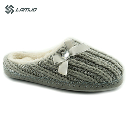 Knit Warm Indoor Bedroom Slipper Women