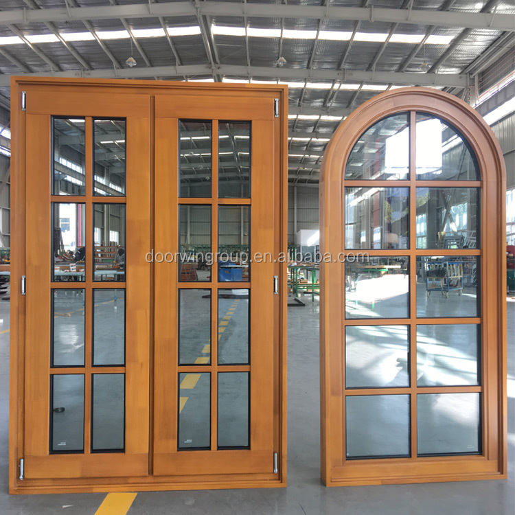 2018 Hot selling style aluminum wooden casement window frame design antique wood window frame