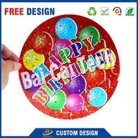Free design customized made waterproof decal car vinyl sticker