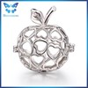 Apple locket cage pendant jewelry finding pearl cage pendants
