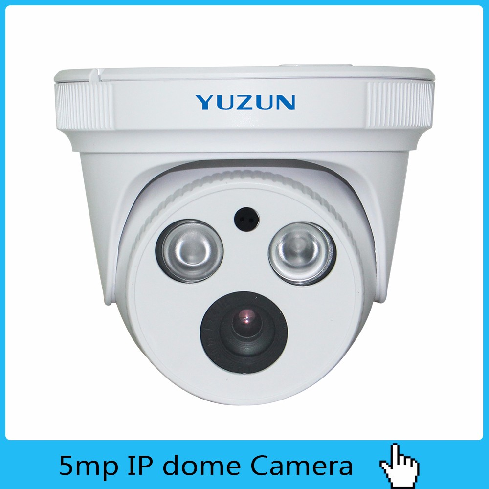5MP ip dome camaras de seguridad para importar cctv with monitors