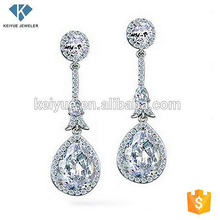 Alibaba express malaysia wholesale earring silver jhumka design