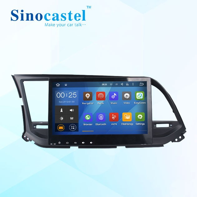 Hot Selling Android 5.1 Head Unit For Hyundai Elantra 2016 With 3G Radio Gps