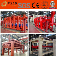 High productivity auto used concrete aac block making machine for hot sale