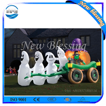 Outdoor Advertising Inflatable cartoon, Halloween Yard Inflatables