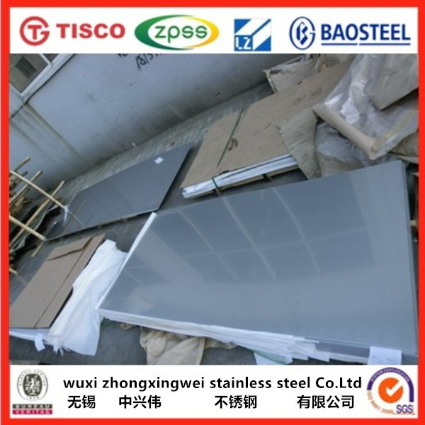 316l 2b finish aisi stainless steel sheet price list