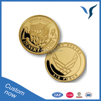 Operation Desert Storm Air Gold Plating Coin Dealers