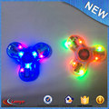 Stress Reducer 608 Bearing crazy spinner toy , light led spinner hand with bluetooth