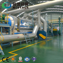 Waste Plastic Recycling and Pyrolysis Production Line