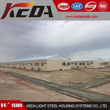 Temporary Dormitory Steel Prefabricated Site Office Building & Accommodation
