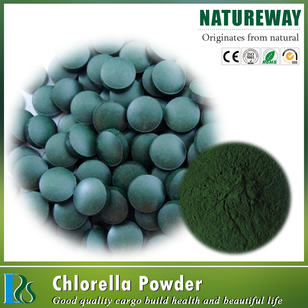 EU and JAS Organic Chlorella and Spirulina Powder (Dietary Supplement)