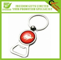 Logo design Custom Metal Bottle Opener Keychain